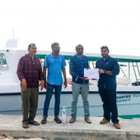 MEQ donates a speedboat to Male's Atoll Himmafushi
