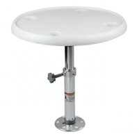 "PRODUCT IMAGE: TABLE ROUND 24"" - 50-70CM"