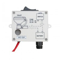 PRODUCT IMAGE: Switch Box for toilet with Rocker Switch