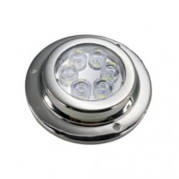 PRODUCT IMAGE: EI LED UNDERWATER LIGHT ROUND 6X3W BLUE