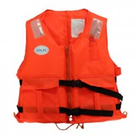 PRODUCT IMAGE: LIFE JACKET FOAM ORANGE ADULT