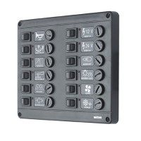 PRODUCT IMAGE: SWITCH PANEL 12FUSE VETUS