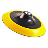 PRODUCT IMAGE: BACKING PLATE YELLOW FLEXI 7""