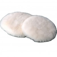 PRODUCT IMAGE: POLISHING LAMB WOOL MM (white) 180MM
