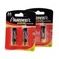 PRODUCT IMAGE: ALKALINE BATTERY AA CARD